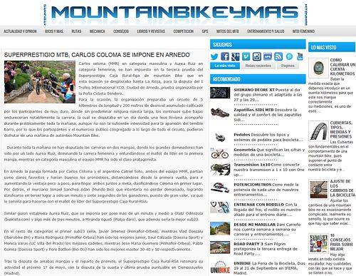 2015-04-27 XCO Arnedo en Mountain Bike y Más