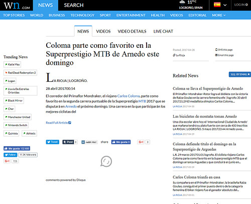 III XCO Internacional Ciudad de Arnedo en World News (3)